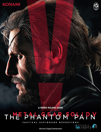 Metal Gear Solid V The Phantom Pain pc cover small دانلود بازی Metal Gear Solid V The Phantom Pain برای PC