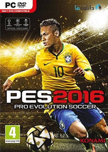 PES 16 pc cover small دانلود بازی Pro Evolution Soccer 2016 برای PC