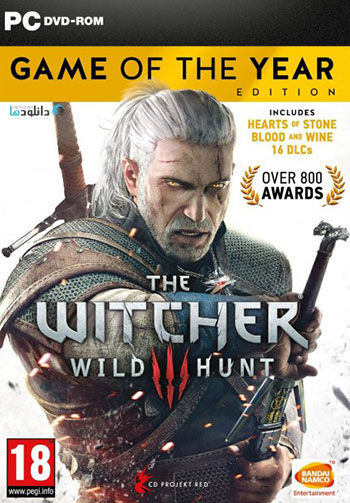 The Witcher 3 GOTY pc cover دانلود بازی The Witcher 3 Wild Hunt GOTY برای PC