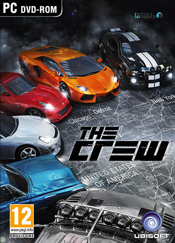 The Crew pc cover small دانلود بازی The Crew برای PC