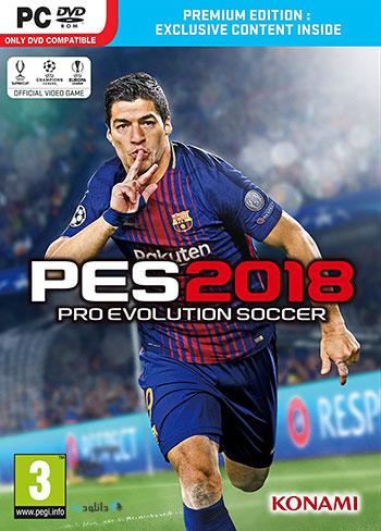 دانلود بازی Pro Evolution Soccer 2018 + DEMO برای PC