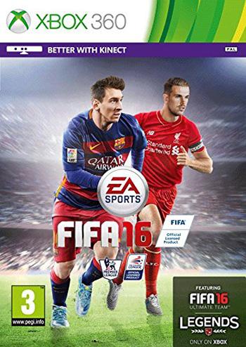 FIFA 16 xbox360 cover دانلود بازی FIFA 16 برای XBOX360