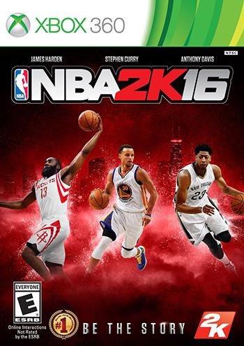 NBA 2K16 xbox360 cover small دانلود بازی NBA 2K16 برای XBOX360