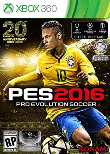 نتیجه تصویری برای دانلود بازی Pro Evolution Soccer 2016 برای XBOX 360