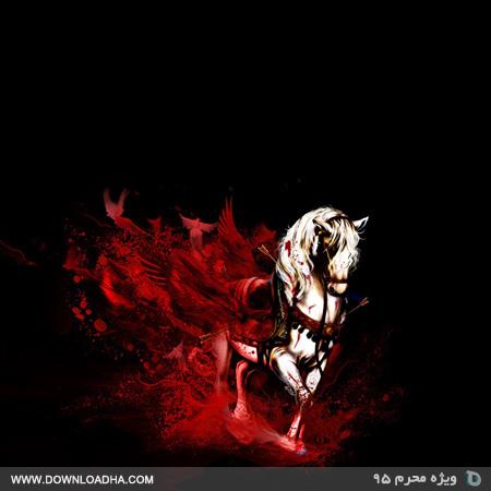 مراسم شب ششم محرم ۹۵ با مداحی حاج محمود کریمی