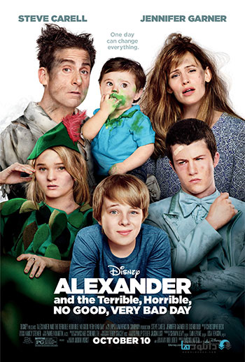 Alexander and the Terrible Horrible No Good Very Bad Day cover small دانلود فیلم سینمایی کودکان Alexander and the Terrible Horrible No Good Very Bad Day 2015