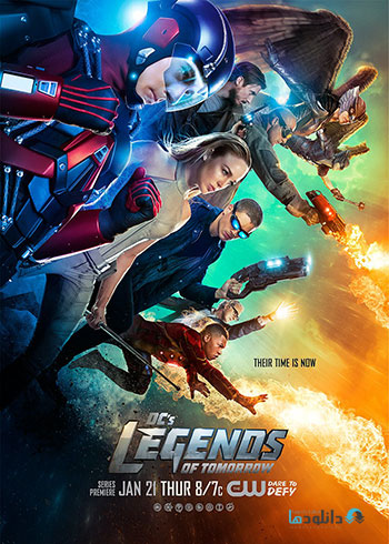 DCs.Legends.of.Tomorrow Season 1 2016 cover small دانلود فصل اول سریال DCs Legends of Tomorrow Season 1 2016