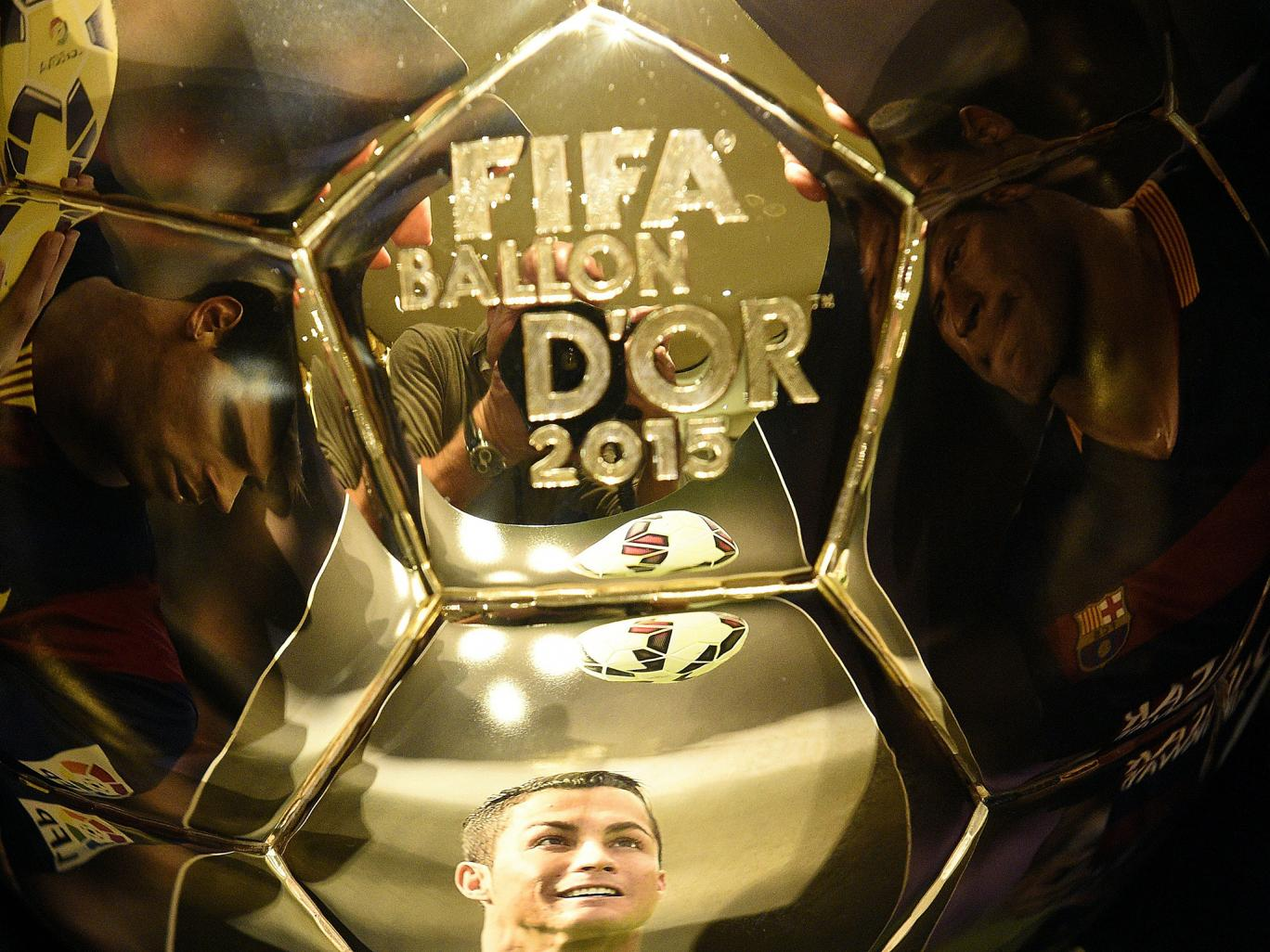 دانلود مراسم توپ طلا ۲۰۱۵ – FIFA Ballon d'Or 2015 Award