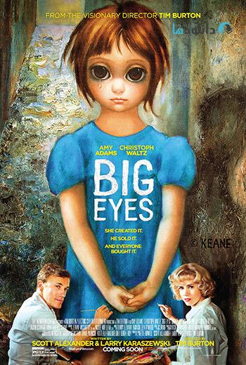 Big Eyes 2014 cover small دانلود فیلم چشمان درشت   Big Eyes 2014
