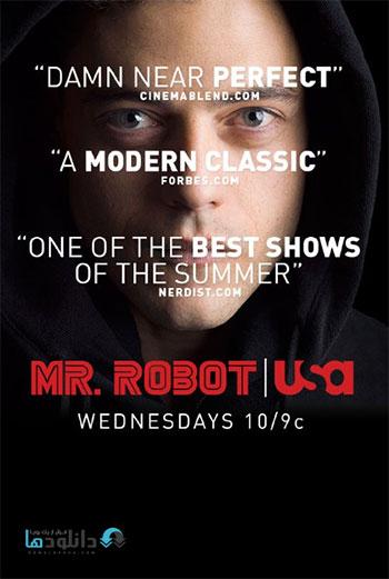 Mr Robot Season 1 2015 cover small دانلود فصل اول سریال آقای ربات   Mr Robot Season 1 2015