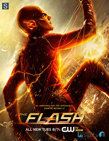 The Flash 2014 season 1 cover small دانلود فصل اول سریال فلش   The Flash Season 1 2014