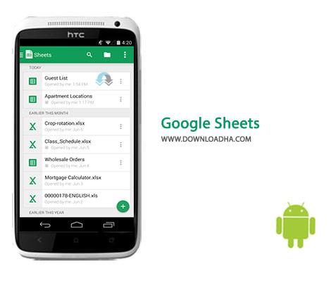 کاور-Google-Sheets