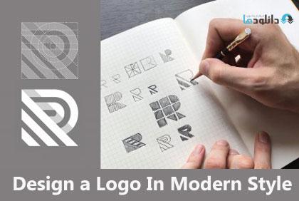 ویدیو-اموزشی-design-a-logo-in-modern-style
