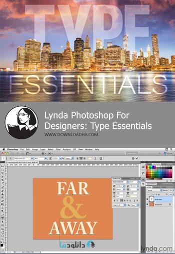 آموزش-کار-با-متن-photoshop-for-designers-type-essentials