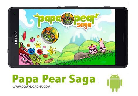 بازی-papa-pear-saga