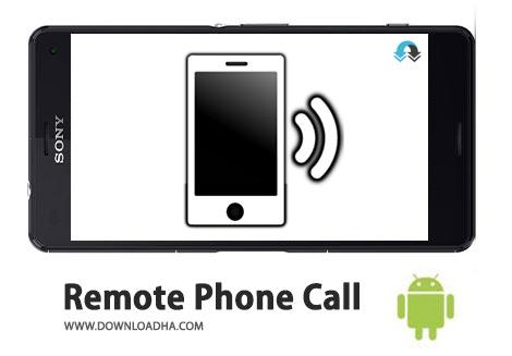 کاور-Remote-Phone-Call
