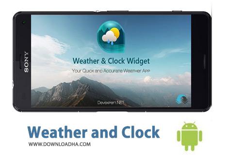 کاور-Weather-and-Clock