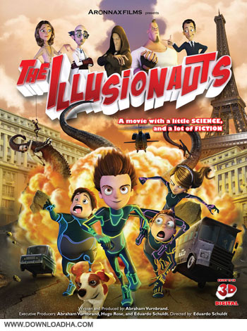 The Ilusionauts cover دانلود انیمیشن The Ilusionauts 2012