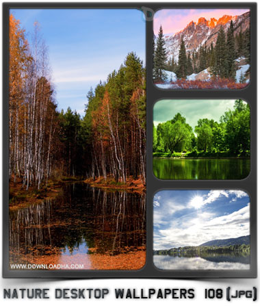 Nature Desktop Wallpapers 108 مجموعه 108 والپیپر دیدنی طبیعت Nature Desktop Wallpapers