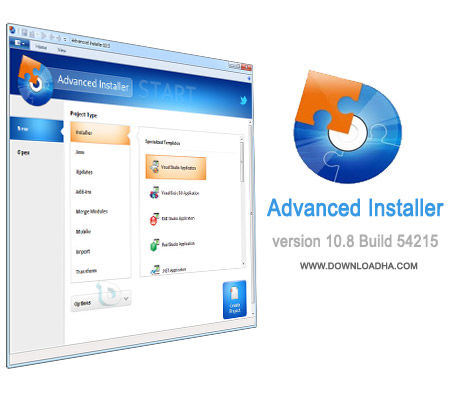 Advanced.Installer.10.8 تهیه و ساخت فایلهای setup با Advanced Installer Architect 10.8