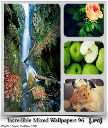 Incredible Mixed Wallpapers  مجموعه ۹6 والپیپر زیبا با موضوعات گوناگون Incredible Mixed Wallpapers