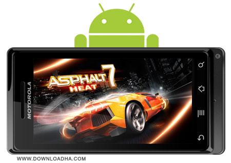 دانلود بازی ماشین سواری محبوب آسفالت Asphalt 7: Heat v1.0.6 0 – آندروید