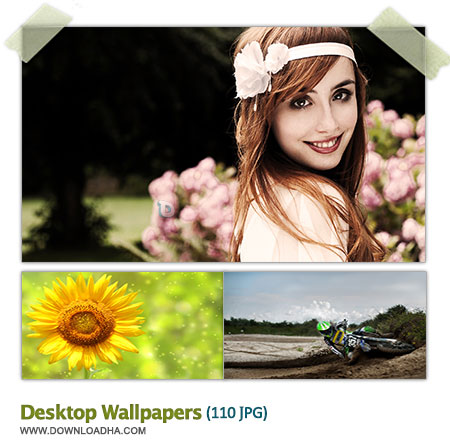 DesktopWallpapers مجموعه 110 والپیپر دیدنی برای دسکتاپ Desktop Wallpapers