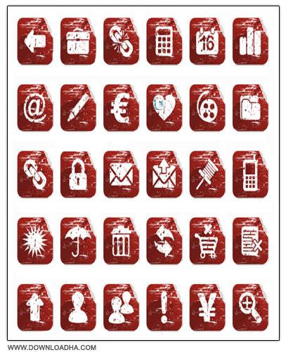 Distortion Icon دانلود مجموعه 68 آیکون زیبا با عنوان Distortion Icon