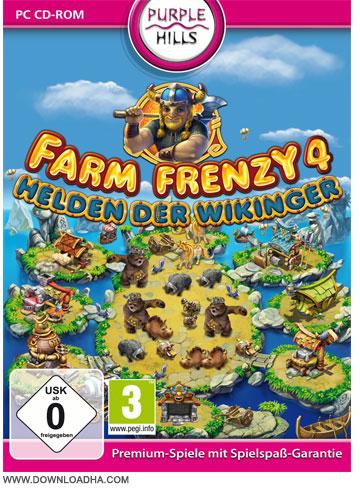 Farm Frenzy 4 دانلود بازی محبوب مدیریت مزرعه Farm Frenzy 4
