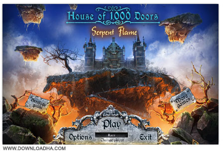 House of 1000 Doors 3 بازی فکری House of 1000 Doors 3: Serpent Flame With Guide