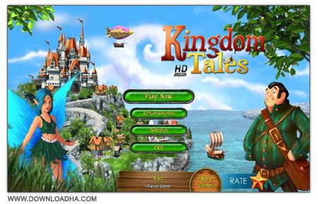 Kingdom Tales HD دانلود بازی مدیریتی داستان پادشاهی Kingdom Tales HD