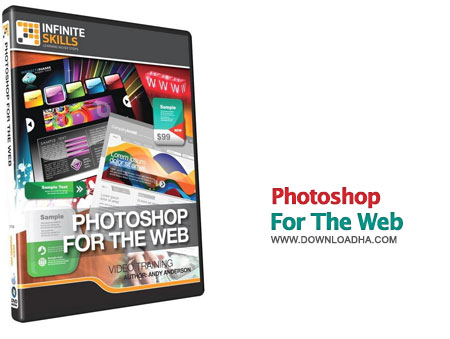 Photoshop for The Web آموزش فتوشاپ برای طراحی سایت Learning Photoshop for The Web