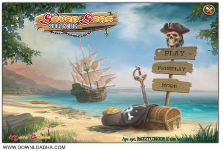 Seven Seas Solitaire دانلود بازی سرگرم کننده و کم حجم Seven Seas Solitaire