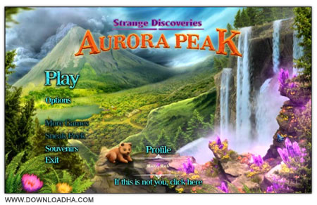 Strange Discoveries دانلود بازی فکری Strange Discoveries: Aurora Peak