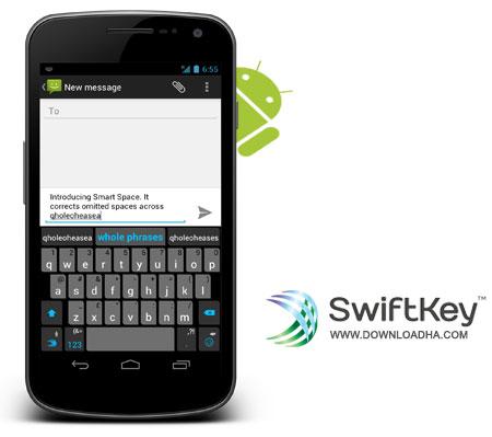 SwiftKey Keyboard کیبورد محبوب و حرفه ای SwiftKey Keyboard v4.1.3.149   آندروید