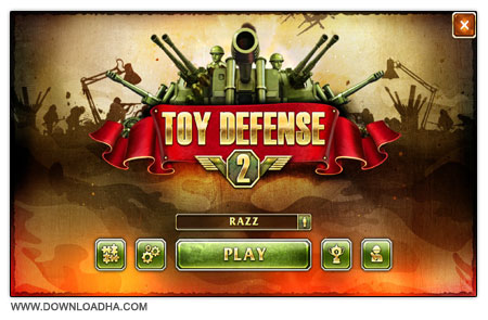 Toy Defense 2 دانلود بازی مدیریتی دفاع اسباب بازی ها Toy Defense 2
