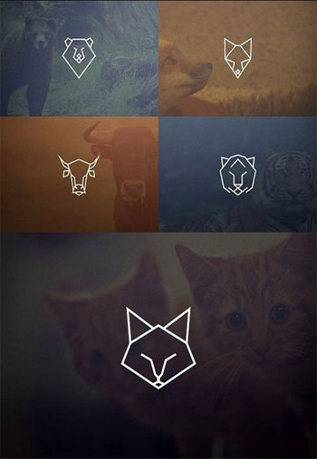 Geometric-Animal-Icons