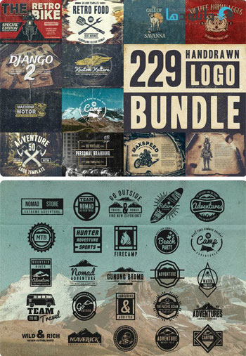 229-Handdrawn-Logo-Bundle-I