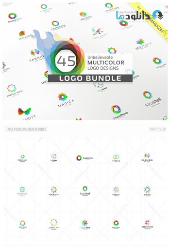 45-Multicolor-Logos-Bundle-
