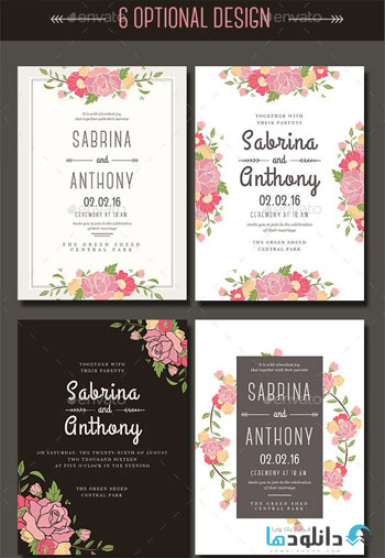 6-Floral-Wedding-Invitation