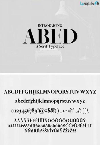 Abed-Serif-Typeface