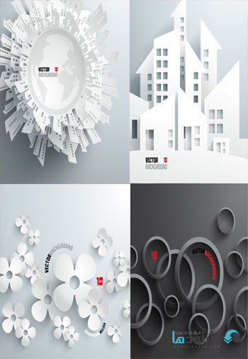 Abstract-3D-Paper-Graphics