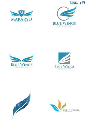 Abstract-Feather-Logo-Icon