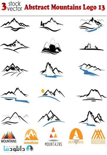 Abstract-Mountains-Logo-13-