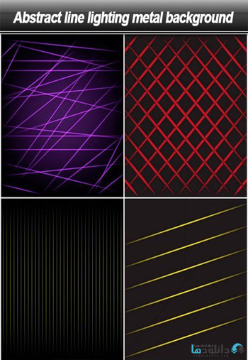 Abstract-line-lighting-metal-background