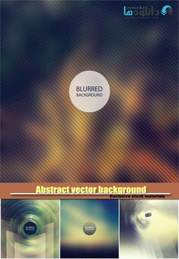 Abstract-vector-background-with-a-blur-effect