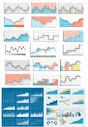 Amazing-ShutterStock-Diagram-And-Graph-Icons-Vector