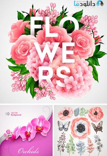 Amazing-ShutterStock-Flowers-Vector