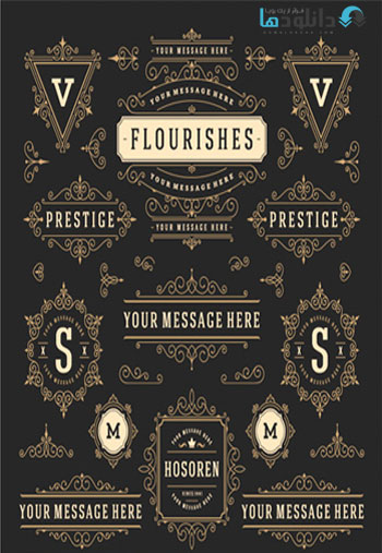 Amazing-ShutterStock-Vintage-Decorative-Elements-Vector