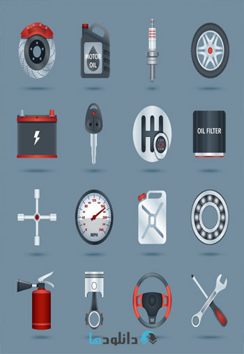 Amazing.Shutterstock.Car.Se  دانلود تصاویر وکتور  Amazing Shutterstock Car Service And Parts